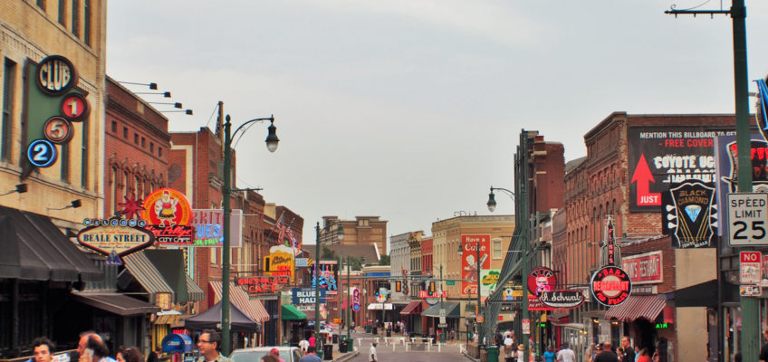 USA C2C: blues, rock'n'roll, Memphis